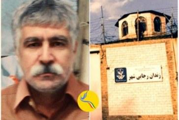 محمد نظری به صورت مشروط اعتصاب غذای خود را متوقف کرد