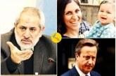دادستان تهران: «نامهنگاری دیوید کامرون درباره نازنین زاغری نشانگر ارتباط او با دولت انگلستان است»