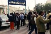 اخراج کارگران شهرداری اندیمشک در پی اعتراض آنان نسبت به حقوق معوقه