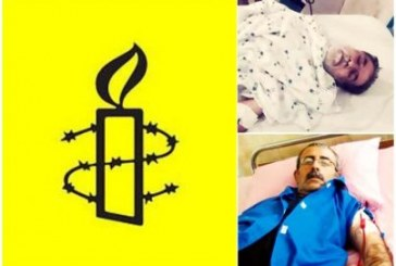 ابراز نگرانی عفو بینالملل در خصوص وضعیت محمود صالحی و محمد نظری