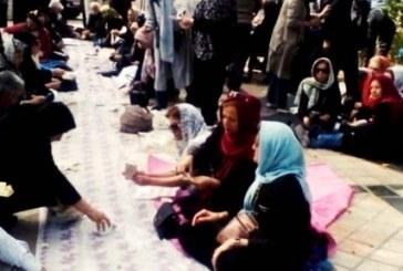 «ظلم و ستم کافیه سفره ما خالیه»؛ تحصن ۲۰۰ تن از بازنشستگان کشوری مقابل سازمان برنامه و بودجه