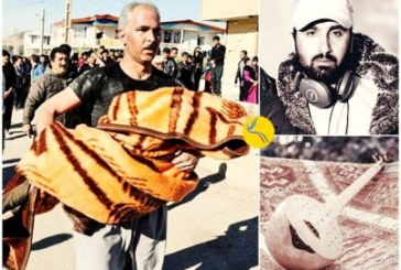 هنرمند زندانی ساز خود را برای کمک به زلزلهزدگان غرب کشور به حراج گذاشت