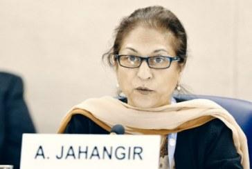 عاصمه جهانگیر: «حکومت ایران نمیتواند با ایجاد رعب و وحشت برای همیشه دوام بیاورد»