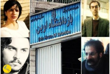 تداوم بازداشت دستکم چهار تن از فعالان دانشجویی در زندان اوین