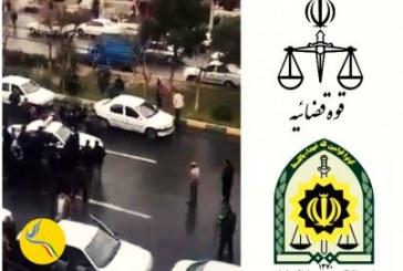 تشکیل پرونده قضایی برای زنی که در تجمع مالباختگان موسسه ولیعصر از سوی خودروی پلیس زیر گرفته شد