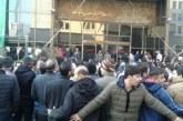 تجمع کارگران کیان تایر مقابل وزارت صنعت، معدن و تجارت
