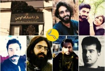 تداوم بازداشت هفت فعال مدنی پس از گذشت دو هفته؛ محرومیت از حق ملاقات و دسترسی به وکیل