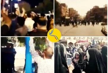 برخورد نیروهای امنیتی با تظاهرات شهروندان در اهواز و دستگیری چندین تن