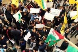 اعتراض در دانشگاه امیرکبیر نسبت به صدور احکام حبس برای دانشجویان و حمله بسیجیان به تجمع