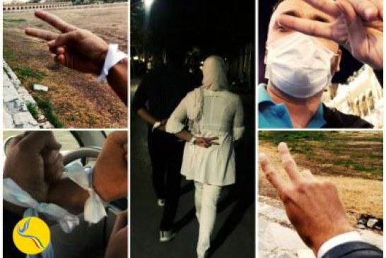 فضای امنیتی در شهرهای مختلف در پی فراخوان کمپین رفراندوم آزاد برای برگزاری پیادهروی «پنج شنبههای سپید»