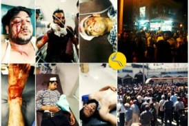 اعمال خشونت شلیک مستقیم گلوله به تظاهراتکنندگان کازرون؛ فضای شهر همچنان امنیتی است