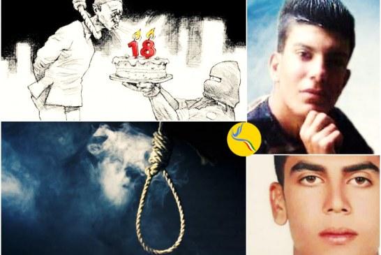اجرای حکم اعدام و شلاق دو نوجوان ۱۷ ساله در زندان عادل آباد