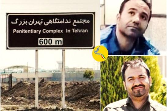 سهیل عربی پس از یک هفته بازجویی در قرارگاه ثارالله به زندان بزرگ تهران بازگردانده شد
