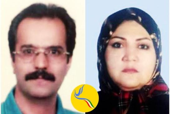 افزایش فشار بر زوج زندانی؛  حسن صادقی و فاطمه مثنی از ملاقات یکدیگر محروم شدند