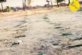 دفن تعدادی از کشتهشدگان اعتراضات دی ماه ۹۶ در گور جمعی در منجیل