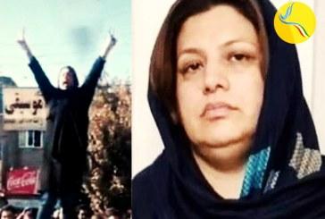 بازداشت فاطمه داوند، از بازداشتشدگان آبان ۹۸، جهت اجرای حکم ۵ سال و ۵ ماه حبس و ۳۰ ضربه شلاق