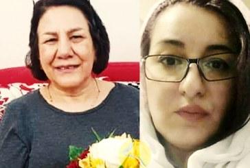 احضار شهلا انتصاری و شهلا جهانبین، برای اجرای حکم حبس