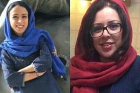 محکومیت قطعی نجمه واحدی و هدی عمید، دو فعال حقوق زنان، به ۱۵سال حبس تعزیری