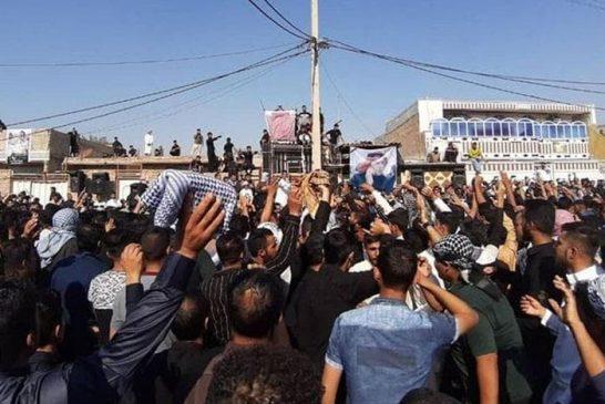 گزارشی از نهمین روز تجمعات اعتراضی شهروندان در شهرهای مختلف کشور