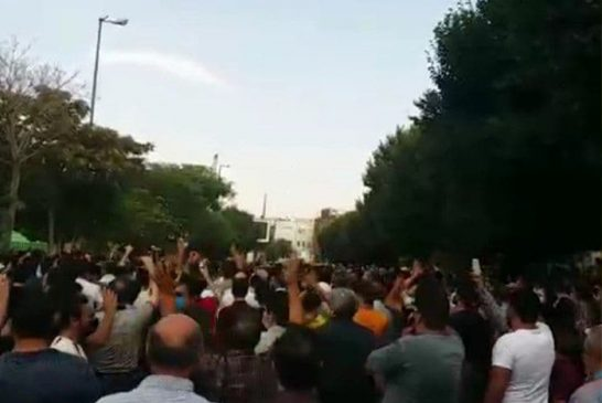 بازداشت دهها شهروند در جریان برگزاری تجمعات اعتراضی در تبریز