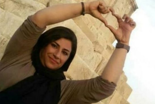 تبعید محبوبه رضایی، زندانی سیاسی، از زندان بوشهر به زندان عادلآباد شیراز
